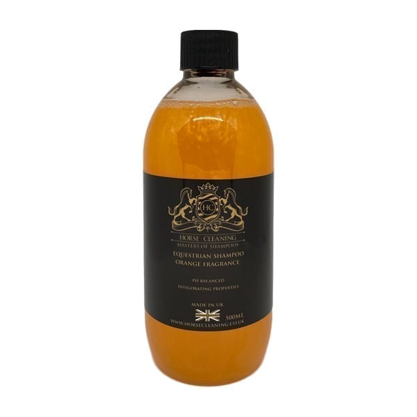 Horse Cleaning Equestrian Orange Shampoo