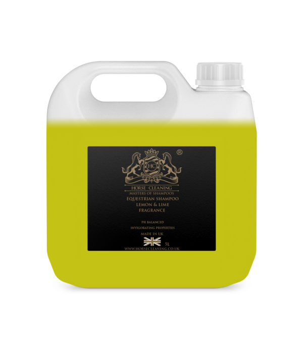 Equestrian Lemon And Lime Shampoo 5L Container