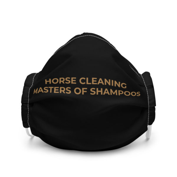 Horse Cleaning Masters Of Shampoos Premium Face Mask
